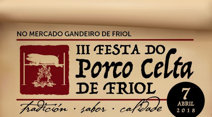 Friol celebrará o 7 de abril a III Festa do Porco Celta