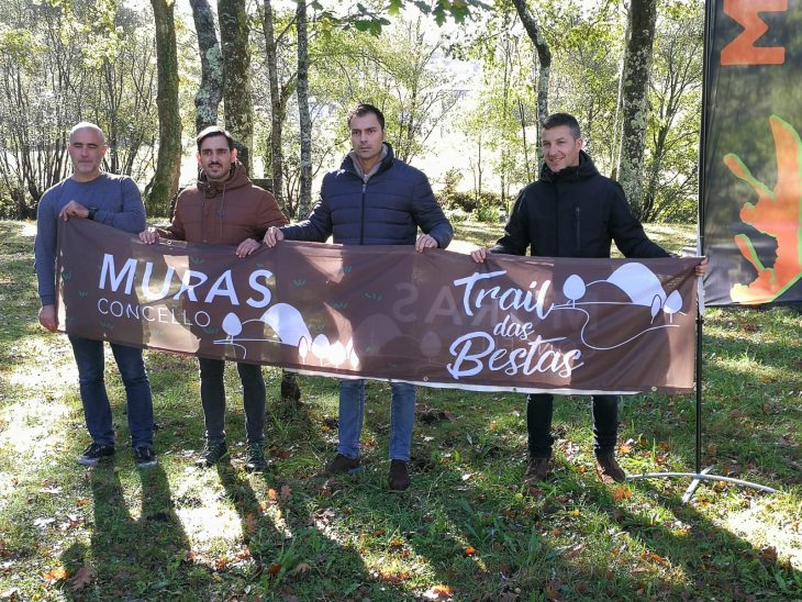250 inscritos no II Trail das Bestas de Muras que se celebra o domingo