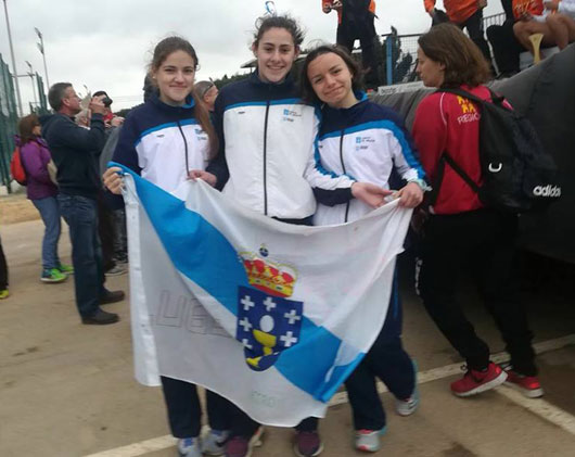 Novas vitorias do Club Atletismo de Friol en Murcia