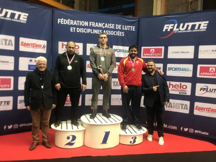 Cuba faise co bronce no Grand Prix de Francia